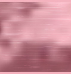 premiums pink foil background luxurious rose gold vector image