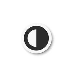 Volume music control icon vector