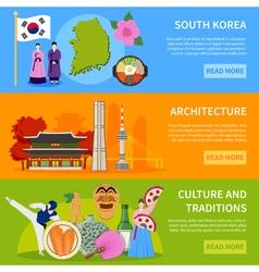 1608i124002sm004c11korea banners flat vector