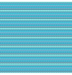 Aqua blue geometric striped hipster pattern vector