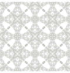 Seamless texture on white element for design vector