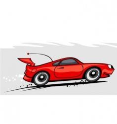 car 1 vector image vector image