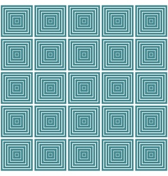 seamless geometric square pattern vector image vector image