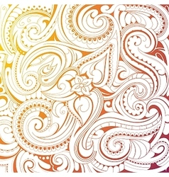 Coloring book pattern vector image
