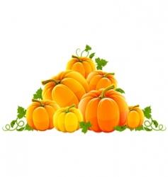 harvest scene vector image