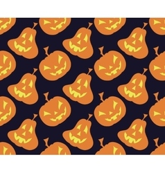 Seamless halloween background vector