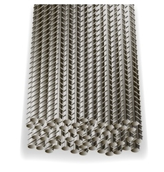 Rebars reinforcement steel construction armature vector