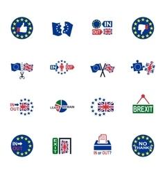 Symbol of brexit vector