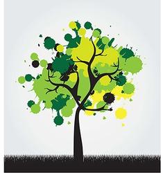 beautiful tree vector image