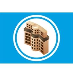 Building bank vector image vector image