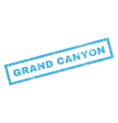 Grand canyon rubber stamp vector