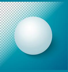 photorealistic ball set template vector image vector image
