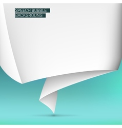 Background with speech bubble vector