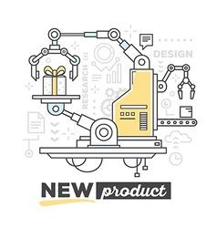 Creative professional mechanism to produc vector