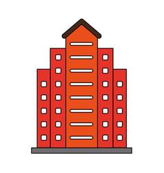 Factory cartoon flat vector