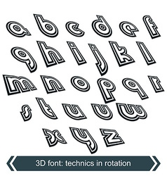 Geometric typescript in rotation 3d small vector
