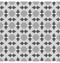 Geometric vintage seamless pattern vector image