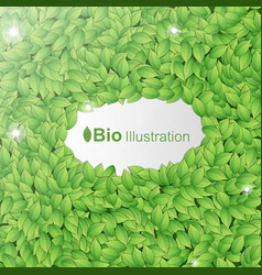 Nature abstract green background vector