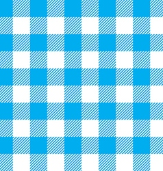 Blue tablecloth seamless pattern vector