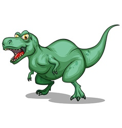 T-rex with sharp teeth vector