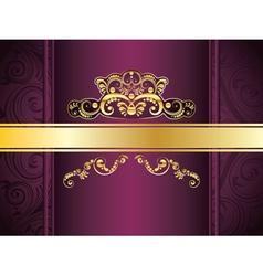 Purple Decorative Background5 vector image