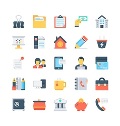 Office and stationery icons 5 vector