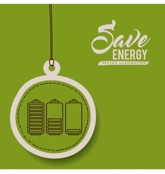 Renewable energy design vector