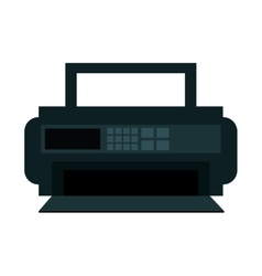 Radio appliance isolated icon vector