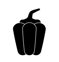 Pepper vegetable healthy pictogram vector