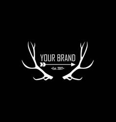 Apparel logo clothing brand logo template vector