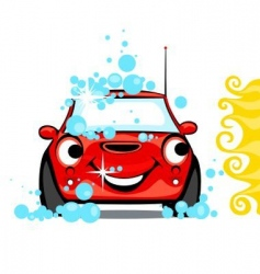 Car wash vector