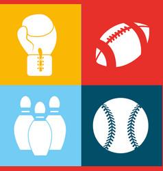 color games balls background icon vector image