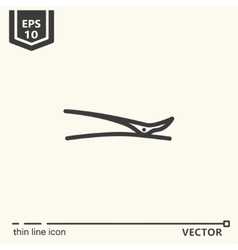 Hairdressing tools icons series hair clip vector