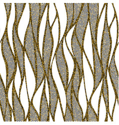 seamless wave pattern for textile and vector image