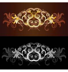 tribal graphic design vector image