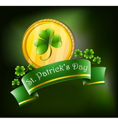 Symbols for st patricks celebration vector