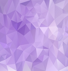 purple violet polygon triangular pattern vector image