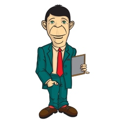 Man office worker vector image