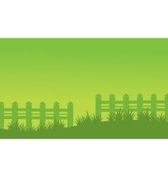 Spring landscape background of vector