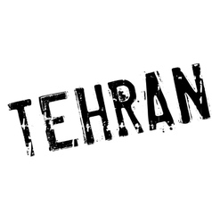 Tehran stamp rubber grunge vector