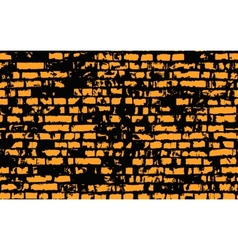 Old brick wall vector image