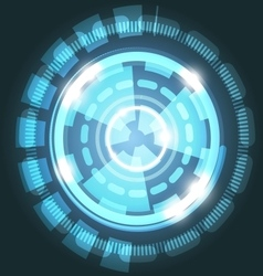 Abstract technology light blue background with vector