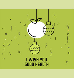 Christmas and new year flat design vector