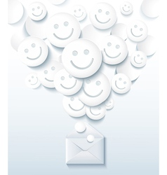 Positive message vector