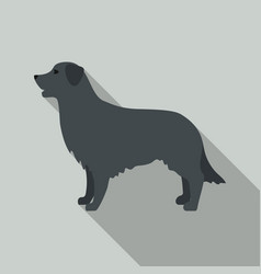 Retriever icon in flat style for web vector