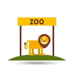 zoo animals design vector image vector image