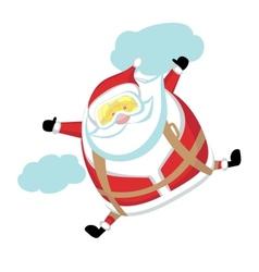 Extreme Santa vector image