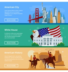 1608i123010sm004c11usa flat banners vector