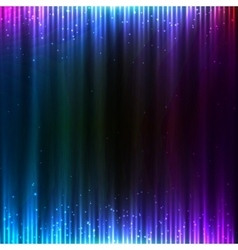 Blue shining technology lights sound background vector