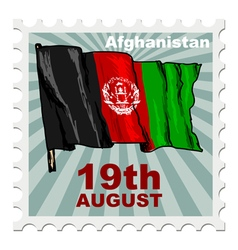 National day of afghanistan vector